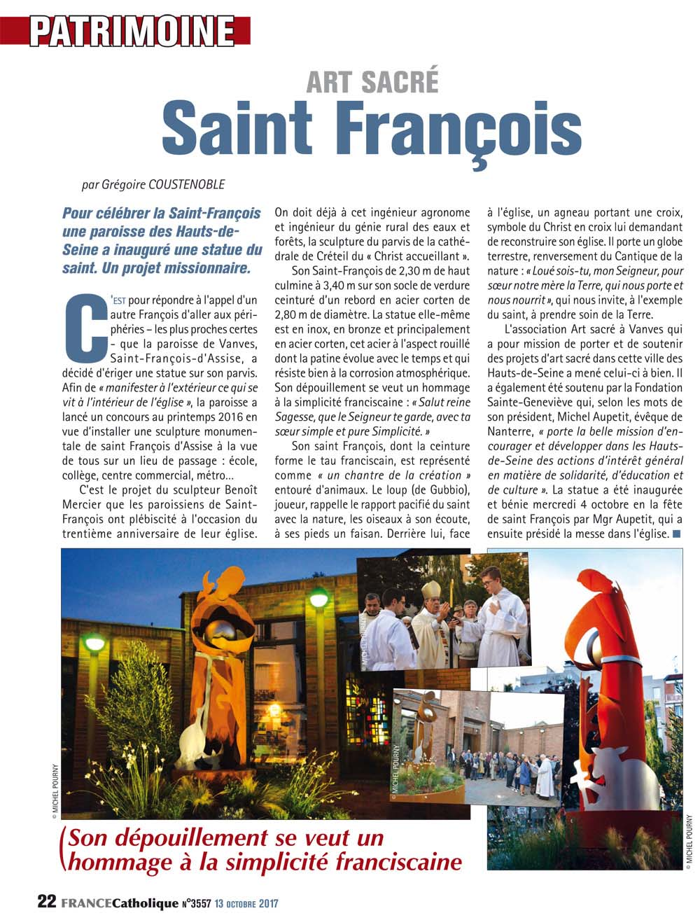 article France Catholique