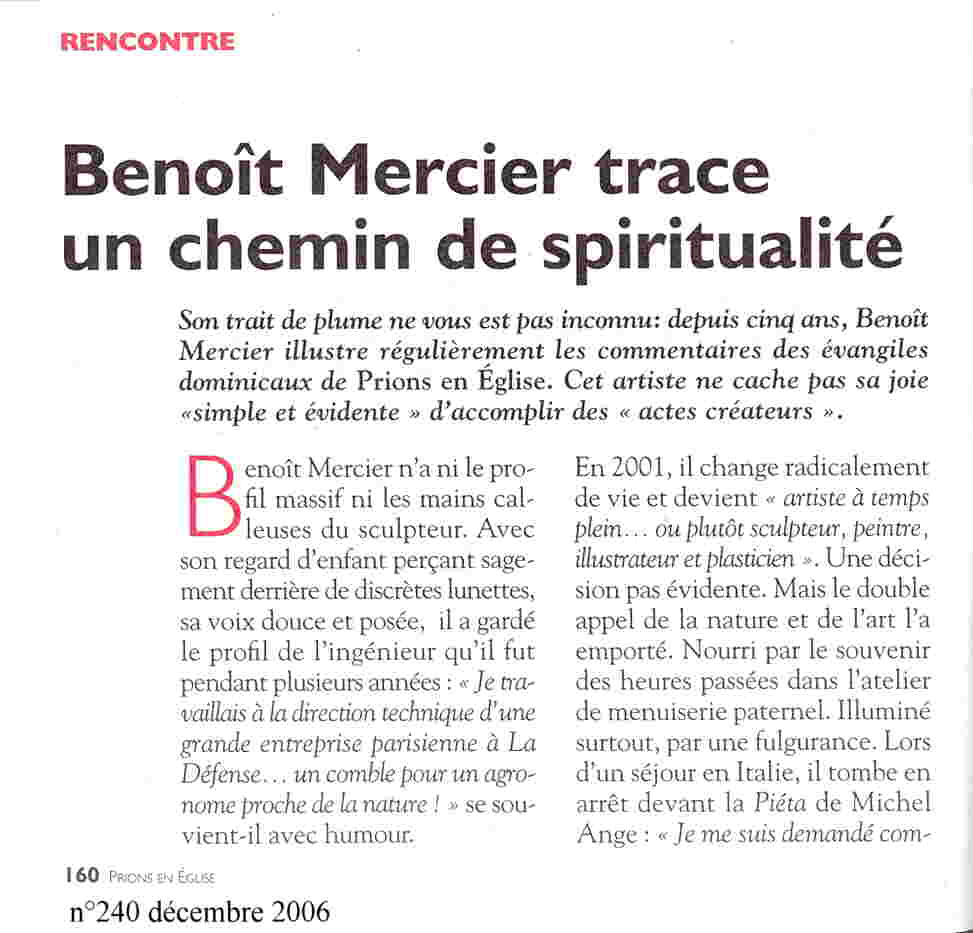 article Prions en église 2006 p1